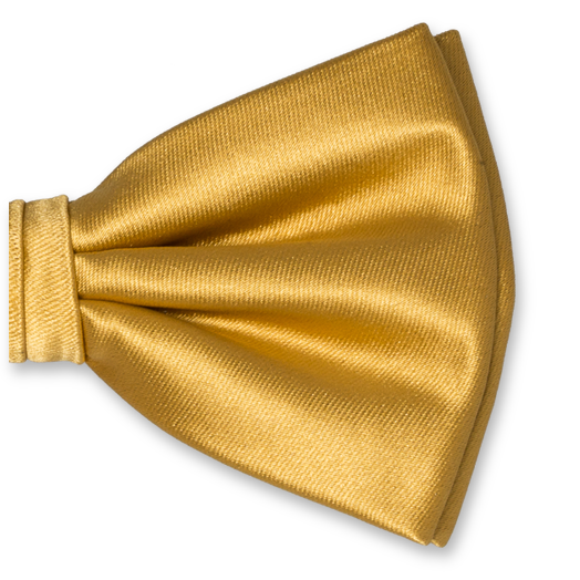 Herrenfliege Gold - Polyester Satin (2)