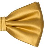 Herrenfliege Gold - Polyester Satin - Thumbnail 2