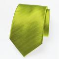 Seidenkrawatte lime grün